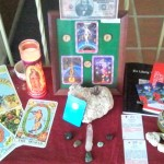 My Money-manifesting altar (please note that I do not pray TO money, I was praying FOR money)