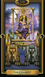 The Chariot_GildedTarot