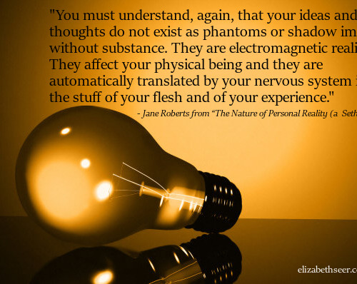 Thoughts Are Electromagnetic Realities