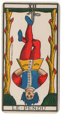 Hanged Man from Tarot de Marseille