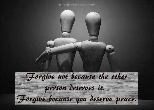 forgivebecauseyoudeservepeace